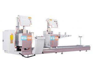 Máy cắt nhôm 2 đầu M450 CNC 7
