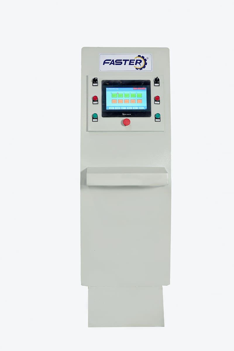 Bảng điều khiển cảm ứng của máy
