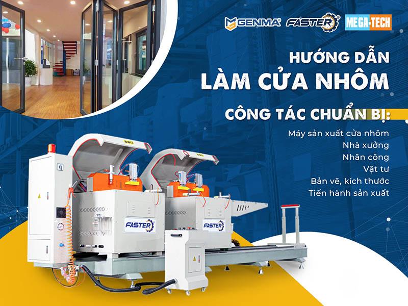 Genma Việt Nam hướng dẫn làm cửa nhôm