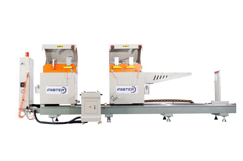 Thiết kế của máy cắt nhôm 2 đầu Genma