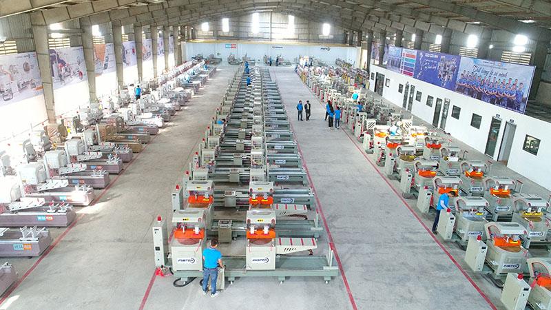 Tổng kho máy của Genma Việt Nam